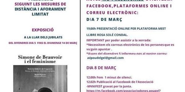 """Exposició sobre """"Simone de Beauvoir i el feminisme"""""""
