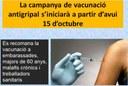 Campanya de vacunació contra la grip