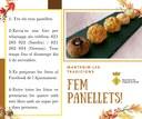 Concurs de panellets: mantenim les tradicions