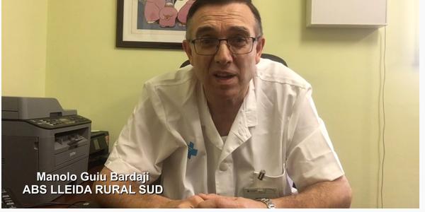 El Dr. M. Guiu alerta de la crisi de salut i econòmica per la covid19