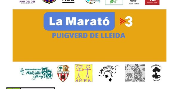 Els actes de la Marató TV3 a Puigverd