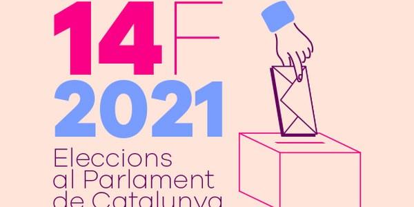 Instruccions per votar amb seguretat el diumenge 14 de febrer