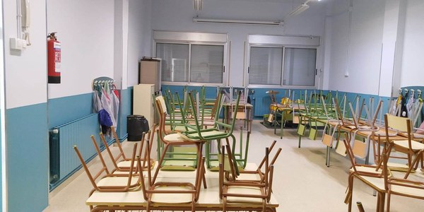 L'escola a punt per l'arrencada del curs 2020/21