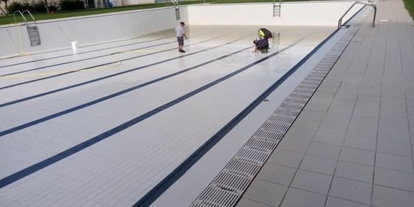 Millora del tractament d'aigua de les piscines del poble