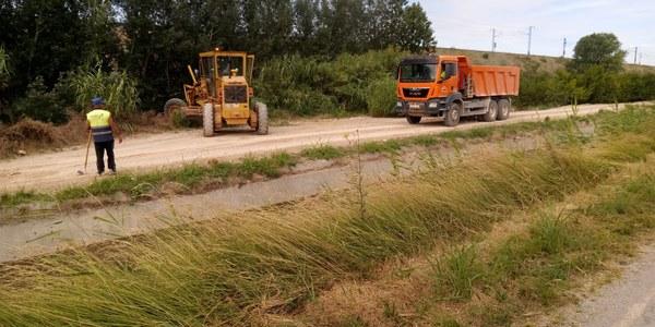 Obres de manteniment i millora a la xarxa de camins municipal