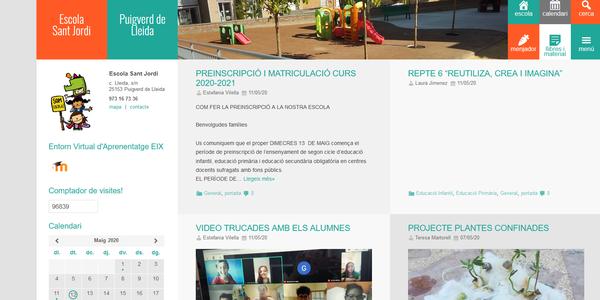Preinscripció a l'Escola Sant Jordi de Puigverd pel curs 2020/21