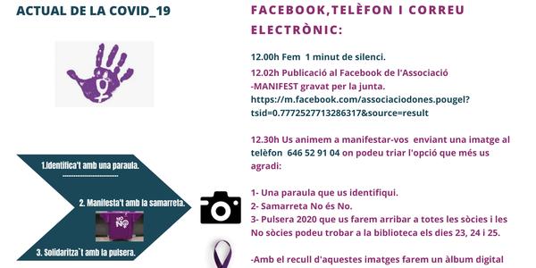 Puigverdines i puigverdins contra la violència masclista