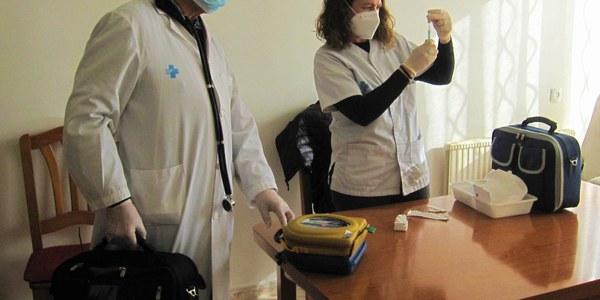 La vacunació contra la COVID-19 en marxa a Puigverd